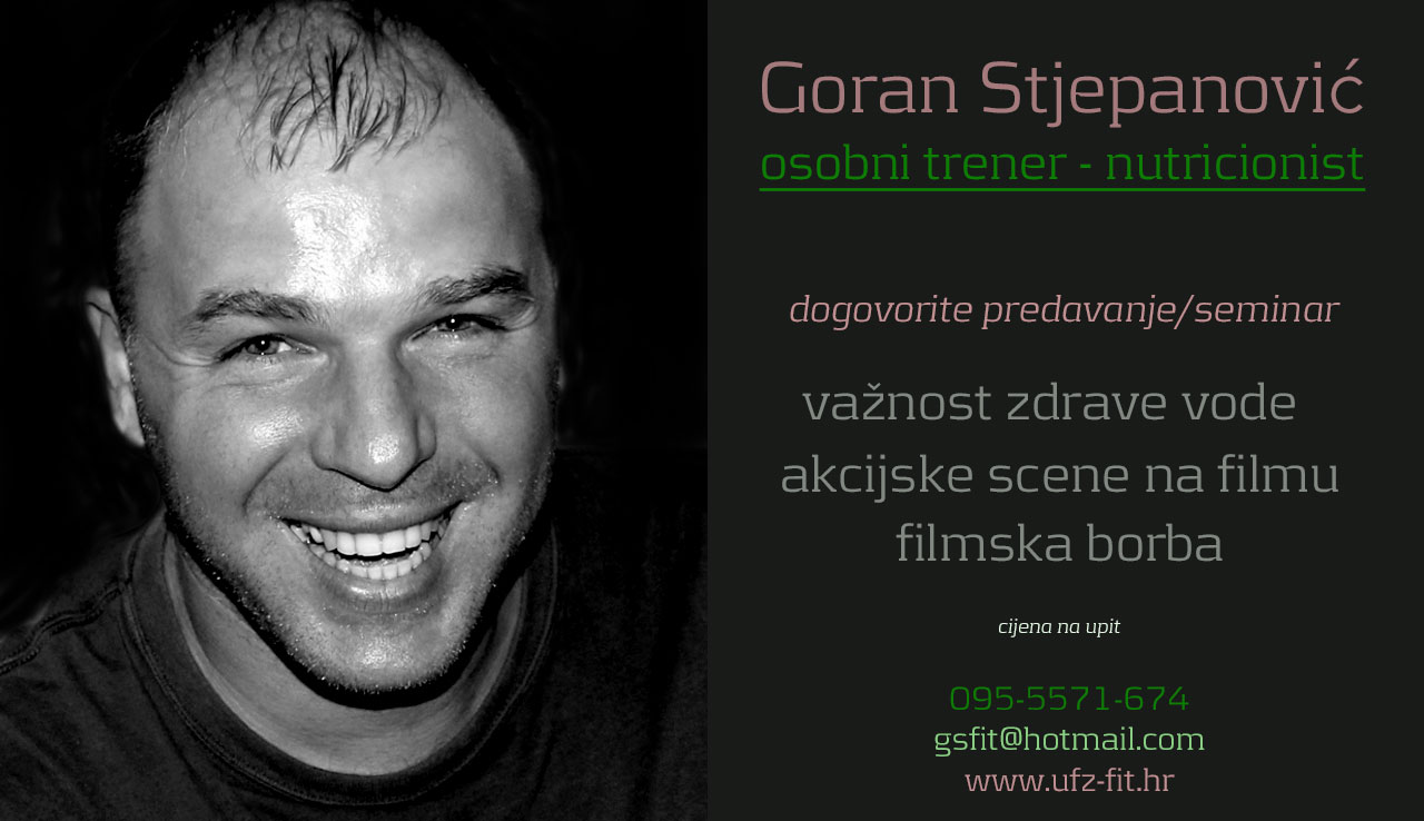 Goran Stjepanovic - Personal trainer - Nutritionist